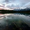 Sunrise Lake Herbert, Banff National Park, Alberta, Canada