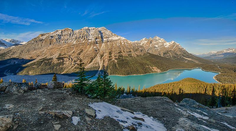 Lake Peyto, Banff National Park, Alberta, Canada