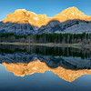 Sunrise at Wedge Pond, Kananaskis County, Alberta, Canada