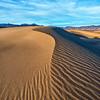 Mesquite Sand Dunes Sunset
