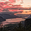 Sunrise in the Columbia River Gorge