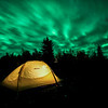 Camping under the Aurora Clouds