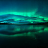 Aurora Fish Reflection