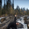 Yoga at Ingram Falls