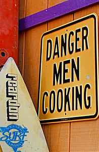 Danger Men Cooking