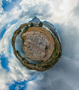 Banner Peak Planet