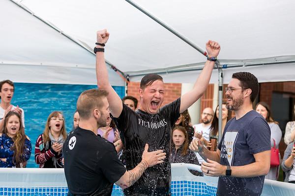 Brentwood Church Easter Baptisms