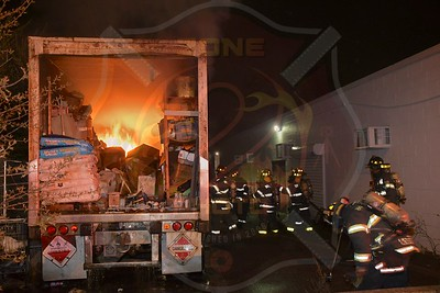 Brentwood F.D.  Signal 14 (Trailer Fire)  Pine Aire Drive   4/15/20