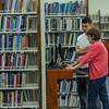 Dominican College - Student getting assistance in Sullivan Library