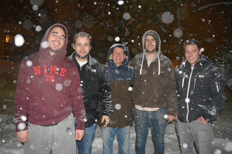 Guys in the snow!