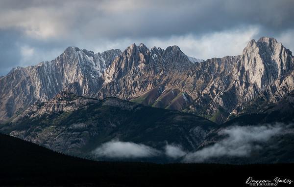 Kananaskis Mountain Range