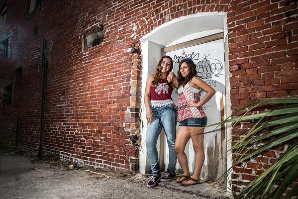 Bri and Abbie Charleston visit