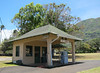The only gas station in Kalaupapa.  Gas prices are stable at the price established with the incoming annual barge.