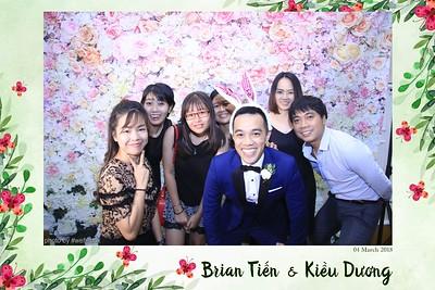 Brian Tien & Kieu Duong Wedding Photobooth - Chụp hình in ảnh lấy liền Tiệc Cưới tại Sài Gòn (HCMC)