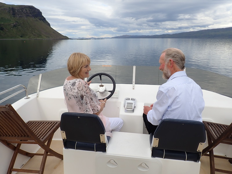 Luxury Boat Tour with guests!