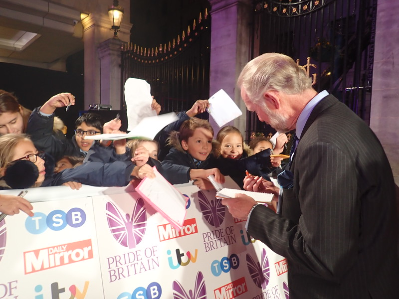 Brian and Cheryl Burnie at Pride of Britain Awards!