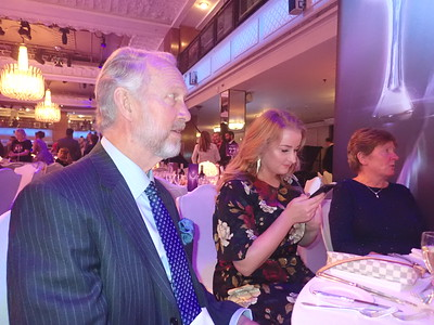 Brian and Cheryl Burnie at Pride of Britain Awards!