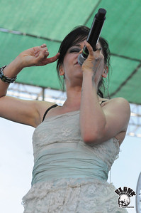 Flyleaf 6/6/2010- BFD Live 105 @ Shoreline (Mountain View, CA)