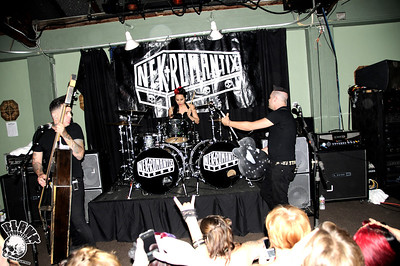 Nekromantix 7/28/2011 @ The Catalyst Club (Santa Cruz, Ca) Blank Productions Photography, Brian S. Crabtree Photography