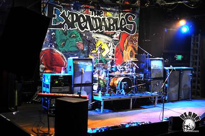 The Expendables 12/10/2010 @ The Catalyst Club (Santa Cruz, CA)