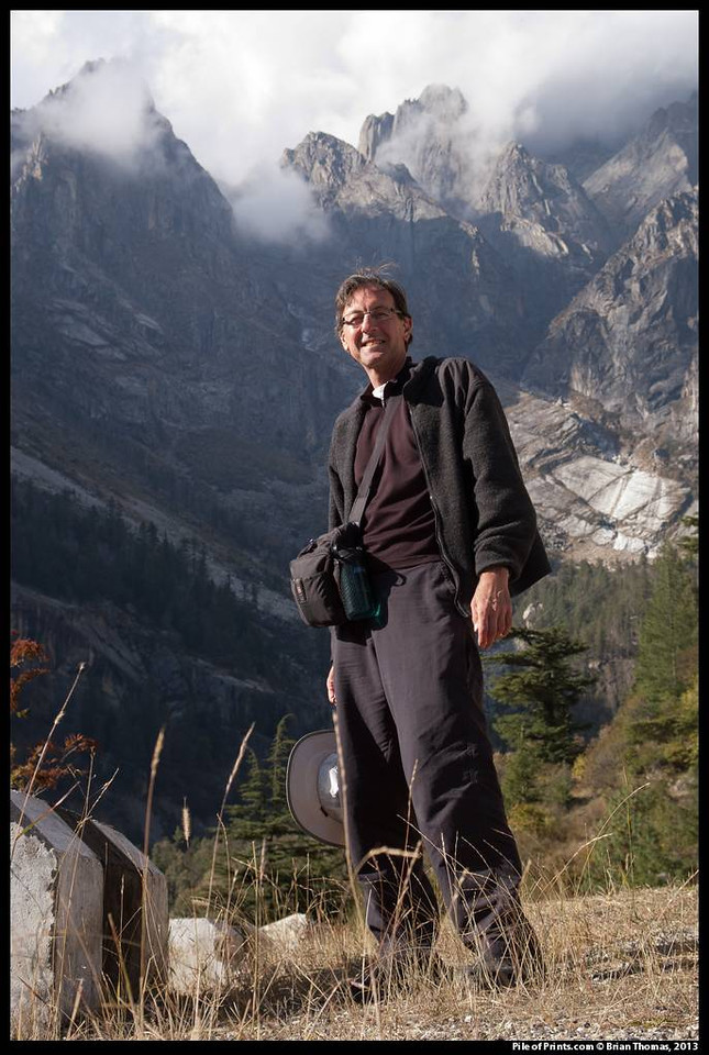 On the road into the Indian Himalayas, 2008