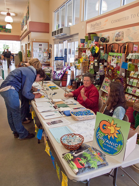 Earth Day at Briar Patch, Apr. 22, 2011
