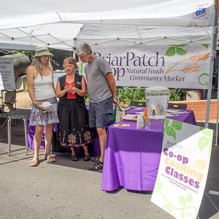20140906 Briar Patch at Nevada City Farmers Market, September 6, 2014