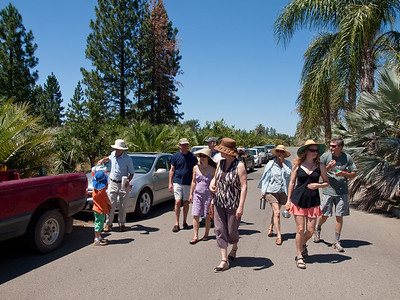 2010.07.10 Visit farms near Oregon House