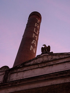 Truman Brewery Chimney, Dawn