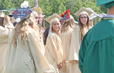 The 2019 graduation ceremony for Brick Memorial High School in Brick, NJ on 6/24/19. [DANIELLA HEMINGHAUS | THE OCEAN STAR]