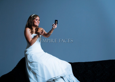 Ty Bullock, Bridals by Empire Faces. Makeup by Lara Toman & styling by Vickie Cross.