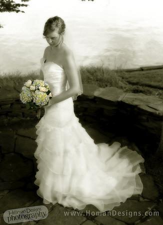 Susan bridal portrait