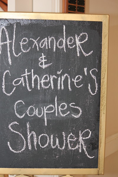 catherine alex kate spade themed bridal shower for couples