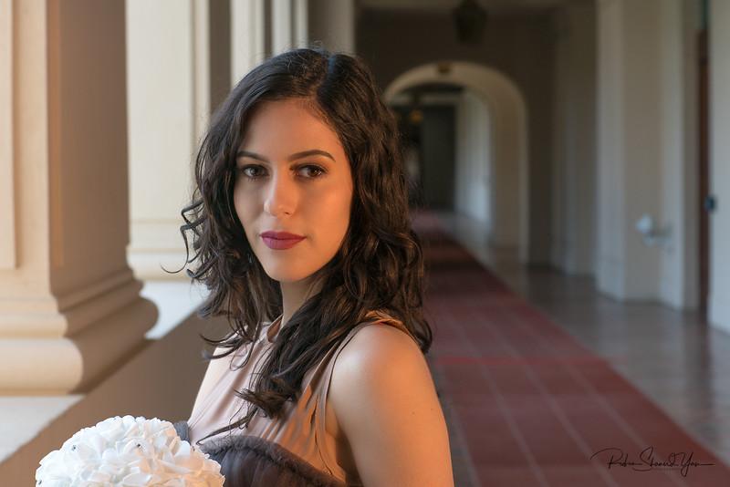 Pasadena City Hall Photo-Shoot with Andy Sinclair for Bridal Photo shoot