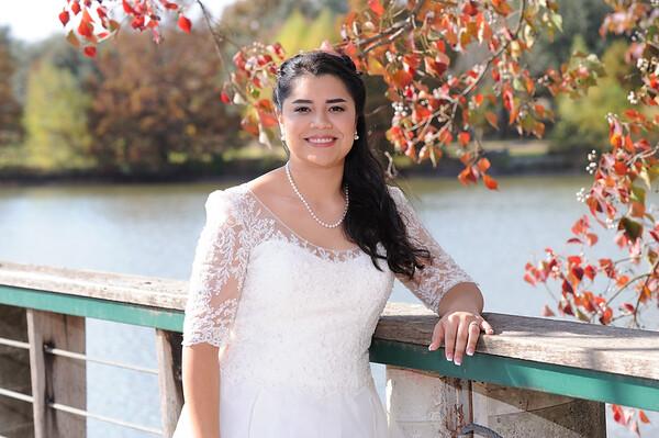 Bryana C - bridal portraits