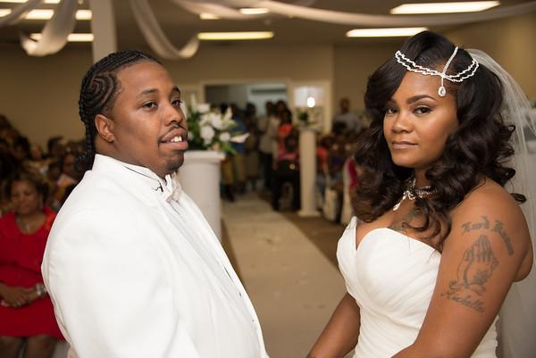 Steven & Markeisha Chambers Wedding
