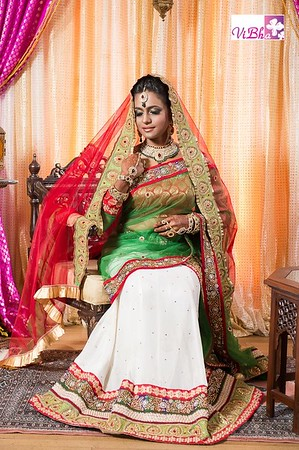 ViBha's Portfolio - Bridal designs!!