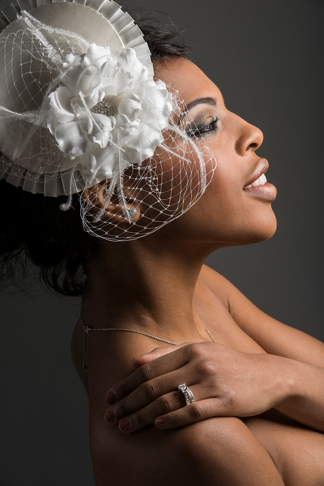 Model: Heylin Maxwell, Makeup: Eve Love, Hair Styling: Anthony Lee, Headwear Designer: Holly Artikal