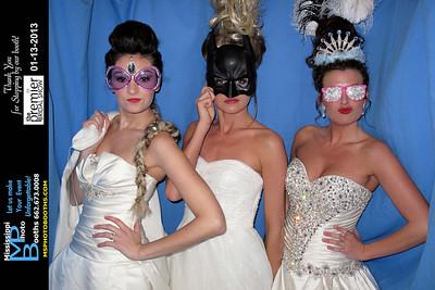 2013-01-13 Premier Bridal Show BOOTH 1