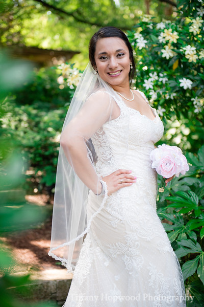 Dallas Arboretum Bridal - Graciela