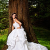 Erielle Reshef in Golden Gate Park. This image was picked for the cover of Brides of Oklahoma Magazine.