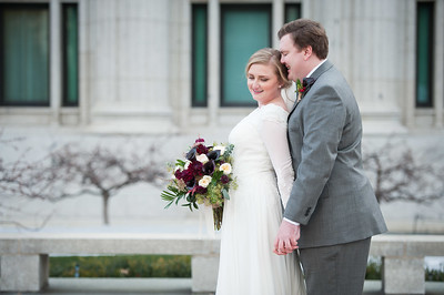 Logan+Brooke // First look & formals