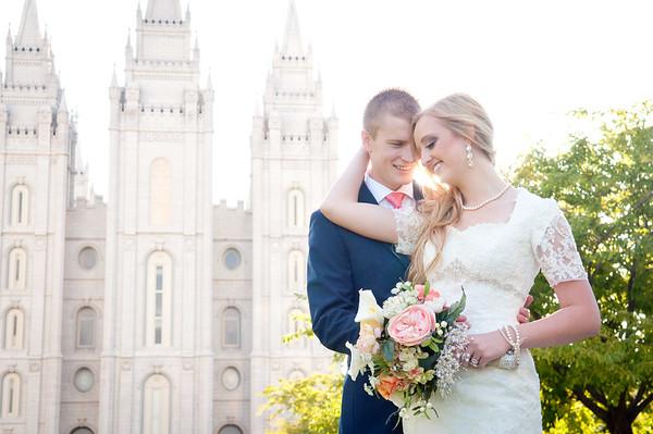 Tyler + Lyndsie {first look/formals}