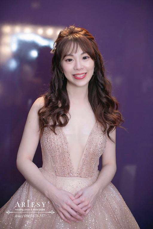 林莉新娘造型,新娘秘書,新秘推薦,愛瑞思,ARIESY,台北w飯店婚宴新秘