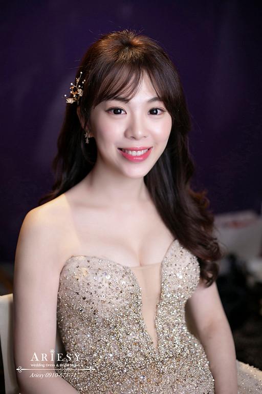 林莉婚紗新娘造型,新娘秘書,新秘推薦,愛瑞思,ARIESY,台北w飯店婚宴新秘