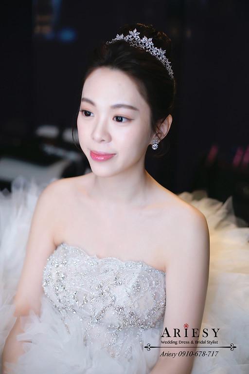 林莉新娘造型,白紗新娘秘書,新秘推薦,愛瑞思,ARIESY,台北w飯店婚宴新秘