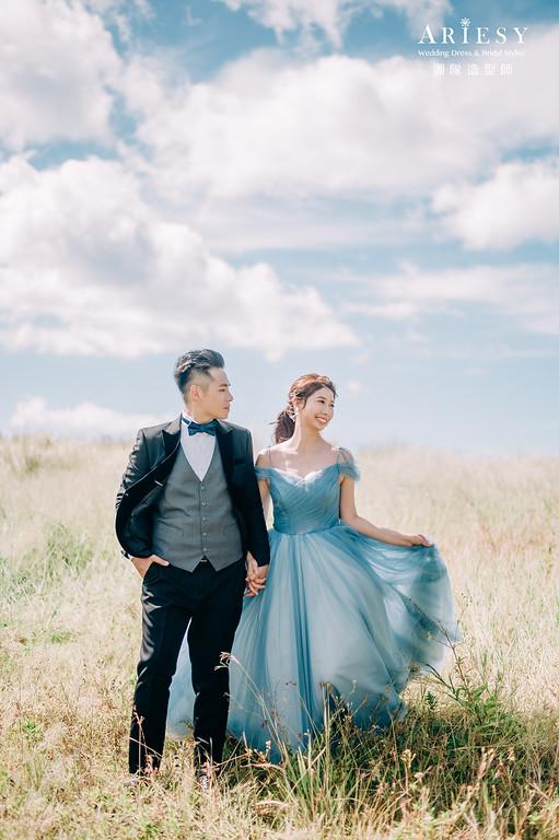 自然輕透,浪漫唯美,婚紗包套,韓系妝感,自助婚紗