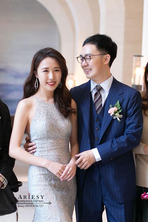 新娘晚禮服造型,送客造型,萬豪婚禮,新娘秘書,台北新秘,新秘推薦