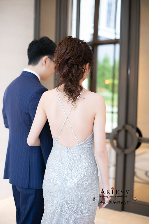 新娘晚禮服造型,敬酒造型,萬豪婚禮,新娘秘書,台北新秘,新秘推薦
