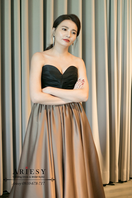 時尚新娘髮型,新娘油頭造型,愛瑞思,ARIESY,美式婚禮,婚禮party
